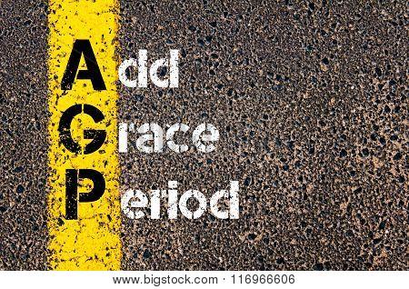 Business Acronym Agp Add Grace Period