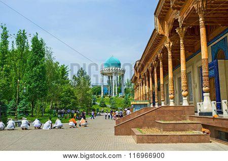 The Memorial Museum Of Uzbekistan