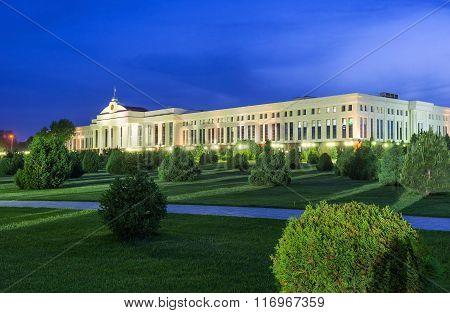 The Evening In Tashkent