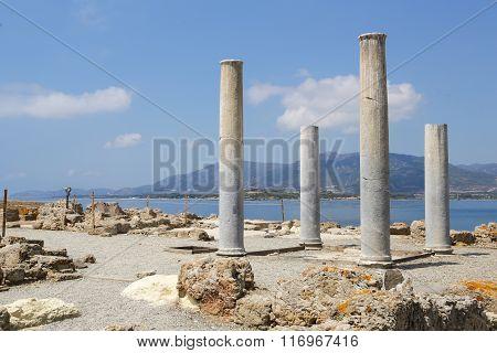 Nora Ruins Sardinia