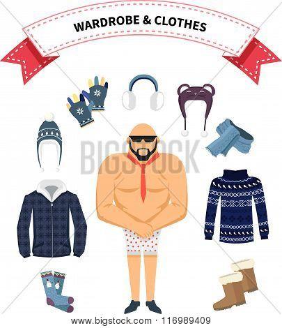 Wardrobe and Clothes