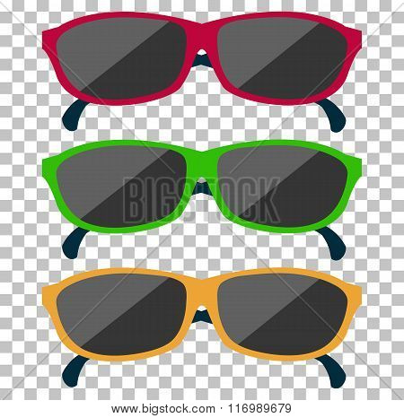 Classic Glasses Icon Sunglasses