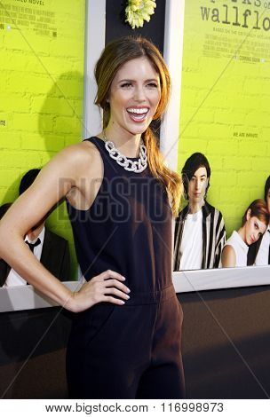Kayla Ewell at the Los Angeles premiere of 'The Perks Of Being A Wallflower' held at the ArcLight Cinemas in Hollywood, USA on September 10, 2012.