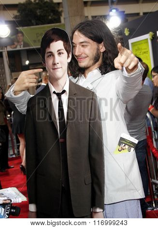 Ezra Miller at the Los Angeles premiere of 'The Perks Of Being A Wallflower' held at the ArcLight Cinemas in Hollywood, USA on September 10, 2012.