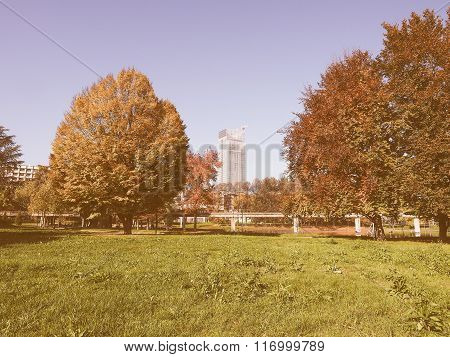 Giardino Corpo Italiano Di Liberazione Park In Turin, Italy Vint