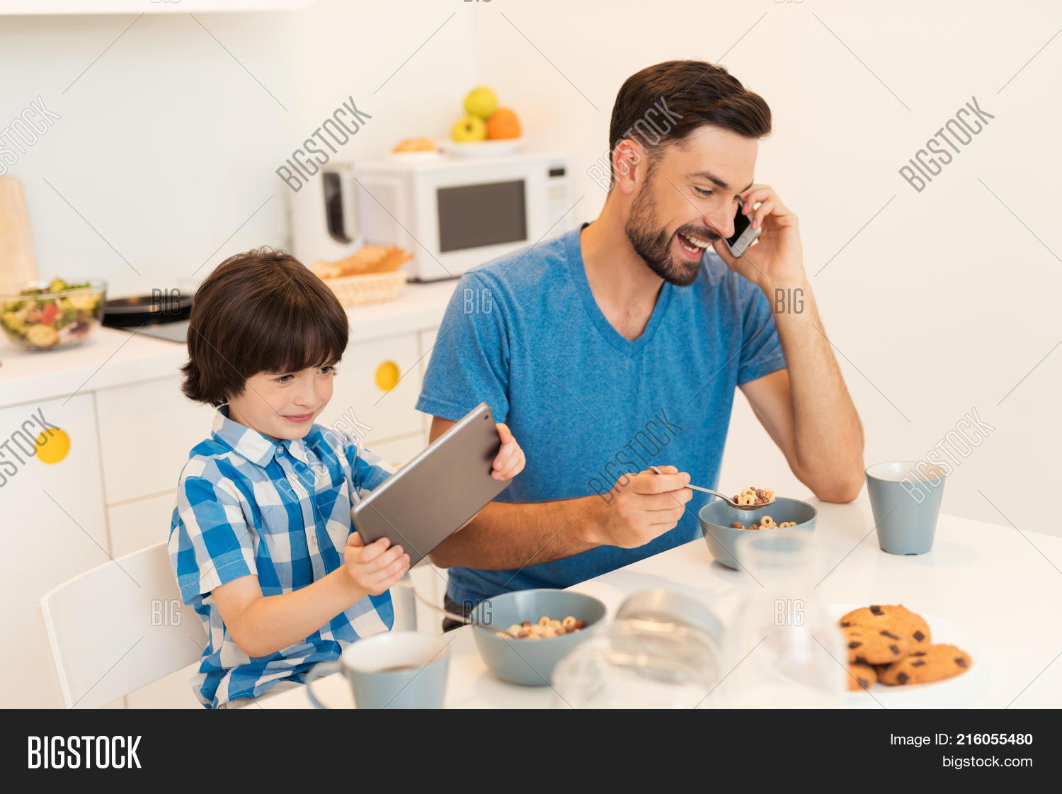 Father Son Have Image & Photo (Free Trial) | Bigstock