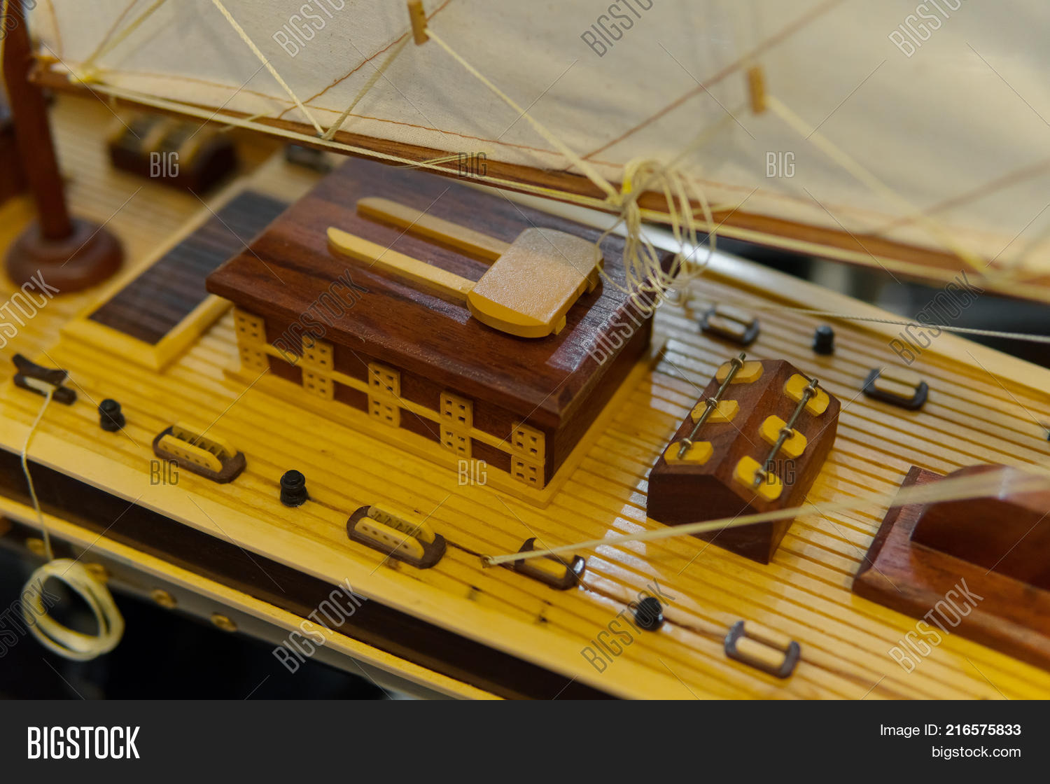 Sailing Ship Model Image & Photo (Free Trial) | Bigstock