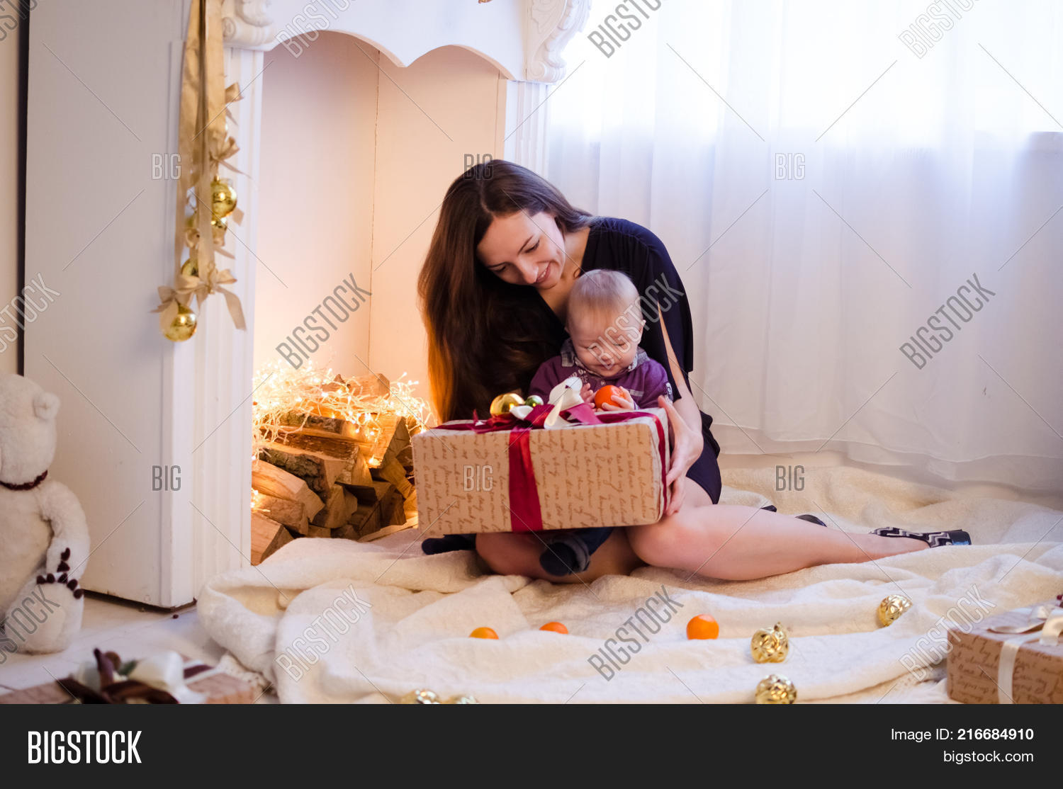 Mother Little Cute Image & Photo (Free Trial)   Bigstock