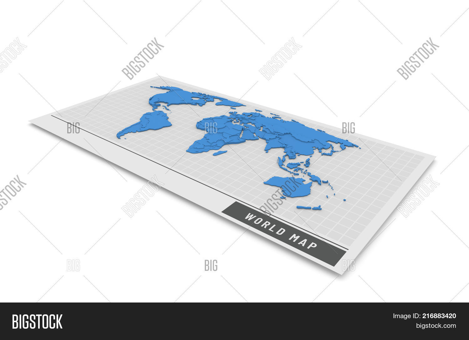 3d Globe Map Bump Map.3d Bump Map Blue Color Image Photo Free Trial Bigstock