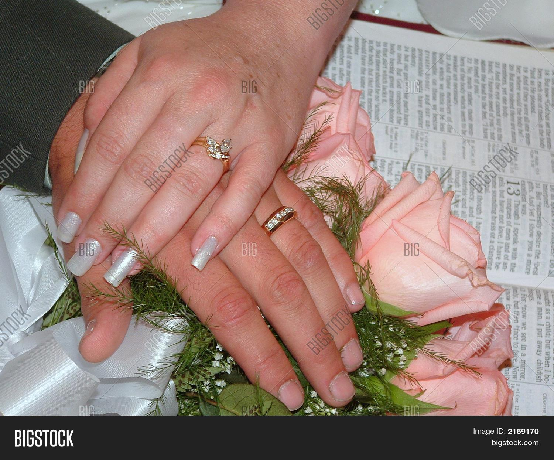 Wedding Hands Bible Image & Photo (Free Trial) | Bigstock