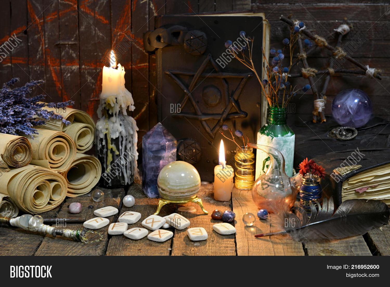 Black Magic Book Old Image & Photo (Free Trial)   Bigstock