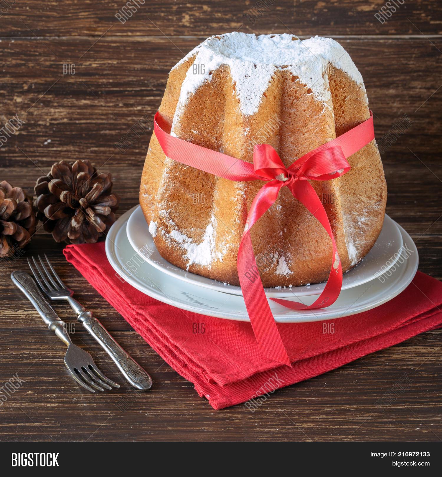 Italian Christmas Cake.Italian Christmas Cake Image Photo Free Trial Bigstock