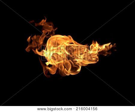 Red Flame Thermal Power Combustion