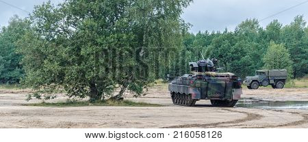 INFANTRY FIGHTING VEHICLE - Military vehicle in the field