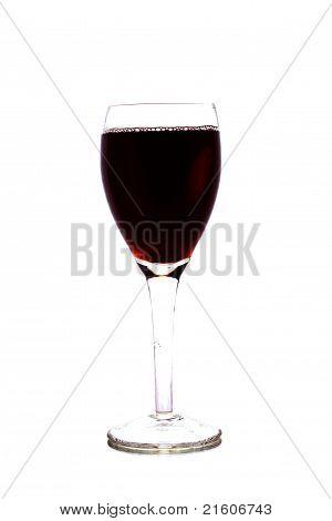Winery Goblet Isolated On White Background