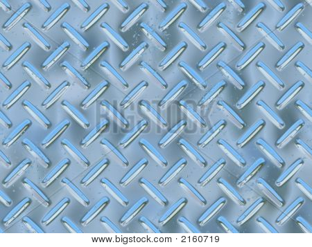 Diamond Metal Plate - Digital Illustration