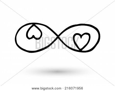 Infinity Symbol Vector Photo Free Trial Bigstock