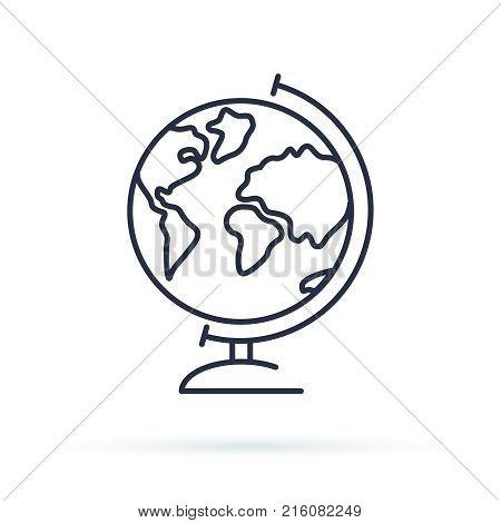 Globe Icon  Earth Vector & Photo (Free Trial) | Bigstock