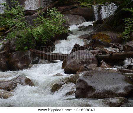Shannon Falls Close-up, British Columbia