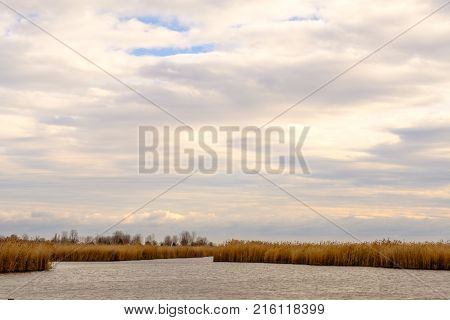 Neusiedler See - view from town Rust Burgenland Austria