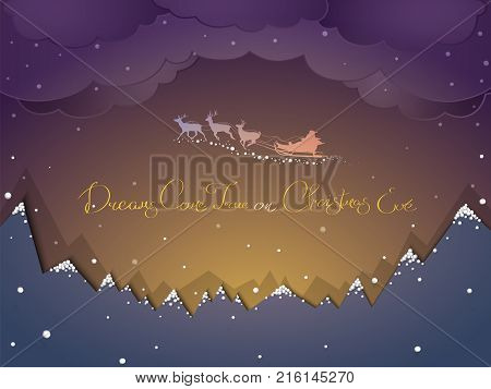 Vector illustration paper imitation of volume and Styrofoam snow. You can use any of your tex.
