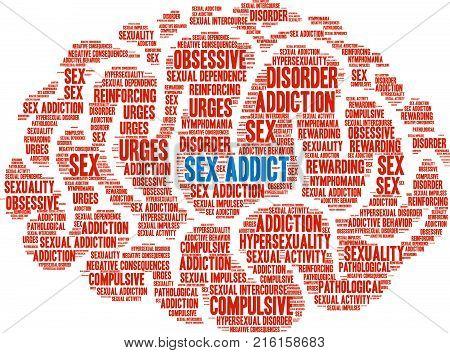 Sex Addict Word Cloud