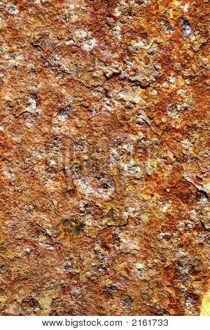 Rust On Flat Surface