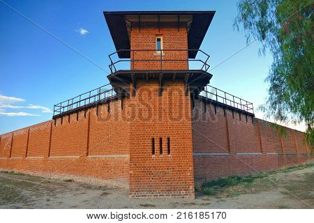 Prison Watch Tower at Historic Gaol Australia