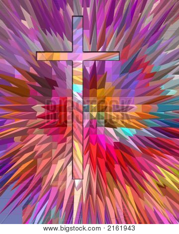 Cross Of Many Colors