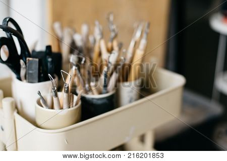 Equipment and tools for pottery and ceramics making