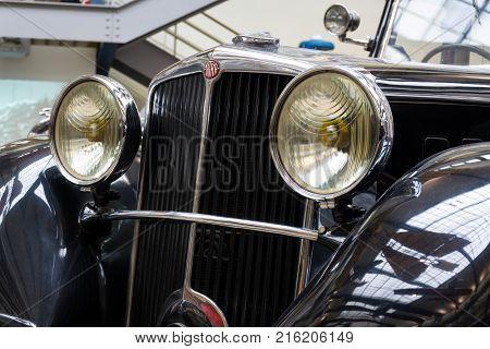Prague, Czech Republic - November 10: Car Tatra 80 From Year 1935 Stands In National Technical Museu