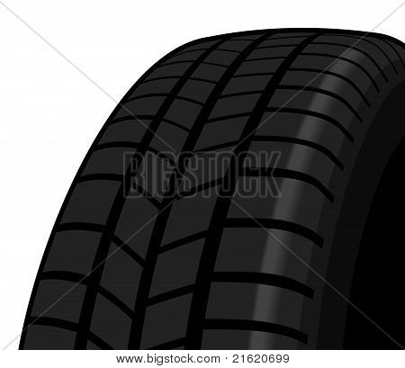 Section of a tyre