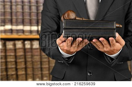 Law book books gavel legal system civil rights law books