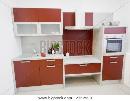 The Modern Kitchen Interior