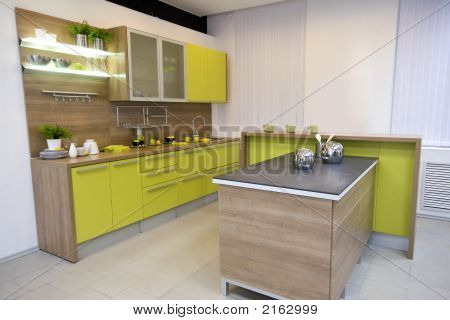 The Modern Kitchen Interior