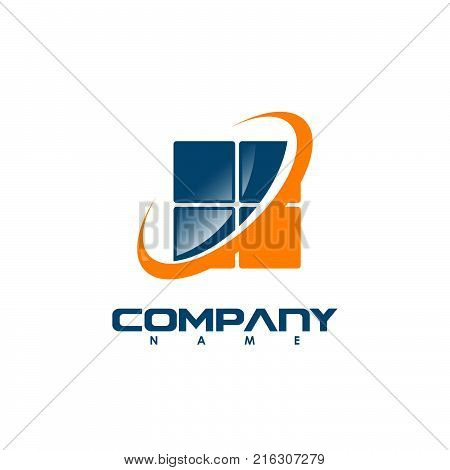 Window logo template vector photo free trial bigstock window logo template vector abstract windows and glass vector business icon fbccfo Image collections