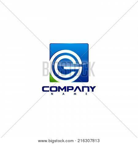 G letter logo design vector illustration template, G letter logo vector, creative Letter G letter logo, letter g logo concept. Vector illustration
