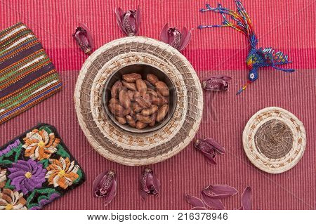 It is image of decorations from Guatemala