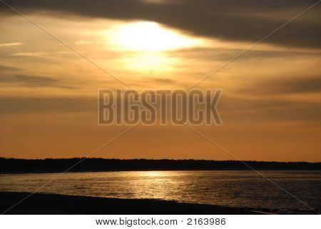 Sunset At The Sea 1