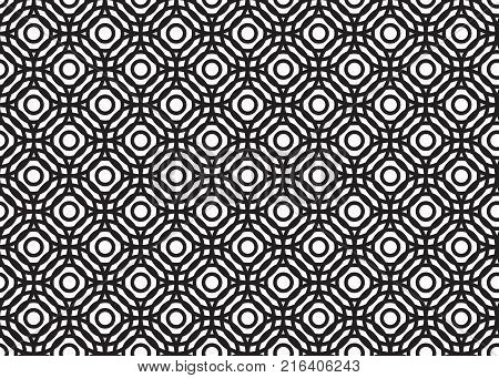 Abstract Circle Pattern. Vector , background on white background