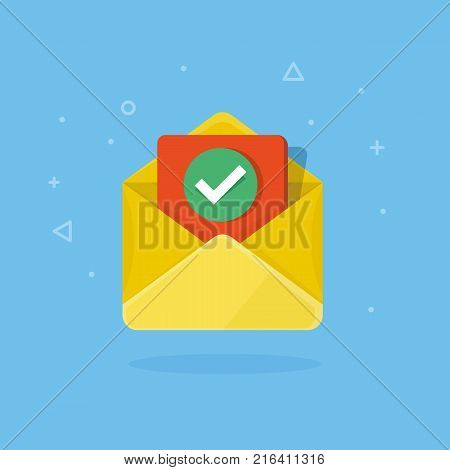 Envelope With Checkmark