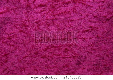 Vintage elegant purple pink velvet texture background