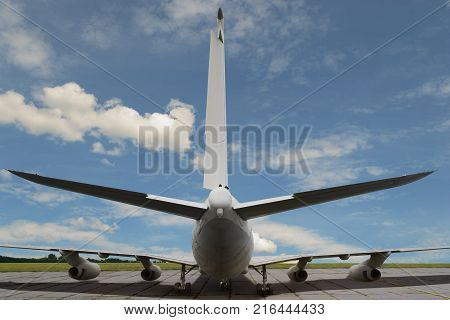 Tail Of Airplane