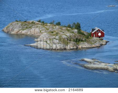 Small Home On Island
