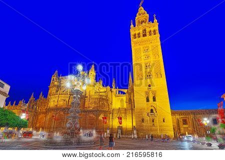 Cathedral Of Saint Mary Of The See (catedral De Santa Maria De La Sede), Better Known As Seville Cat