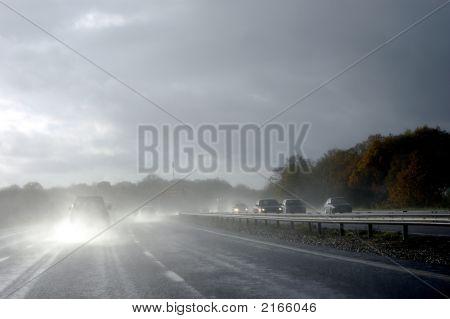 Hazardous Driving In Wet
