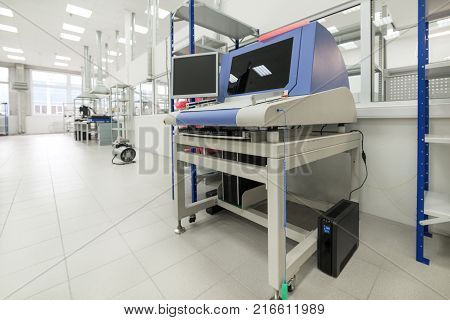 Electronic industry. Shop assembly of printed circuit boards.