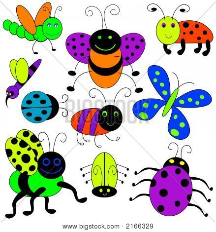 Cartoon Bugs.
