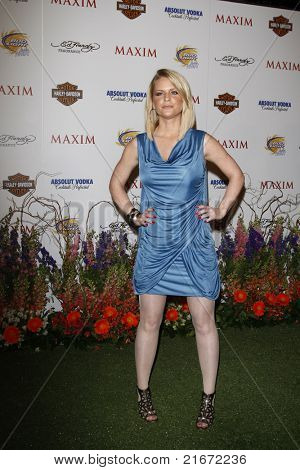 LOS ANGELES, CA - MAY 19: Carrie Keagan arrives at the 11th annual Maxim Hot 100 Party at Paramount Studios on May 19, 2010 in Los Angeles, California