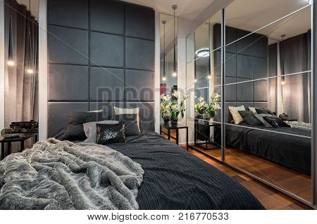 Luxurious Bedroom With Double Bed